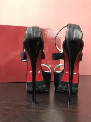 Laboutine Model rote Sohle high heels 1969 Italy 36