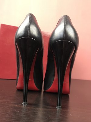 Laboutine Style red sole heel stiletto echt Leder Luxus