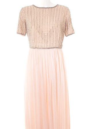 Lace & Beads Abendkleid apricot Elegant