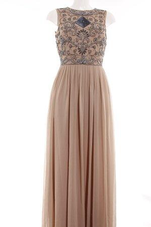 Lace & Beads Abendkleid beige Elegant