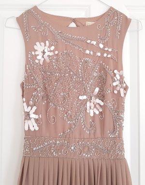 Lace & Beads Abendkleid mit Pailletten