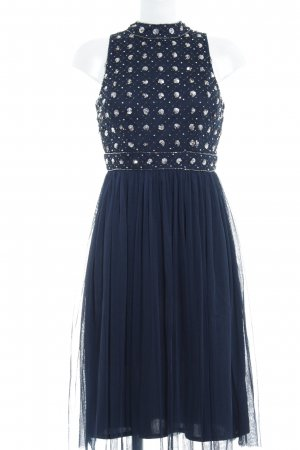 Lace & Beads Cocktailkleid dunkelblau Elegant