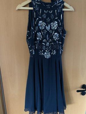 Lace&beads pailetten kleid