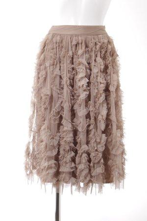 Lace & Beads Tüllrock beige Romantik-Look