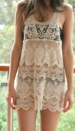 Lace Dress/Tanktop/Cover up NEU