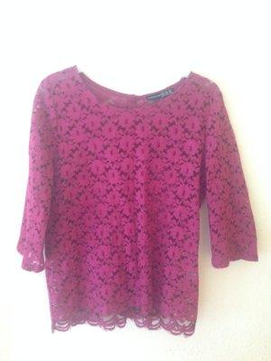 Lace Shirt lila , neu Spitzen Shirt