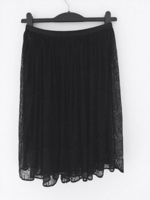 Lace Spitze Gothic Romantic Waist Sheer Skirt AA 36-38