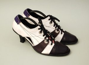 Lace Up Pumps - Booties - Vintage