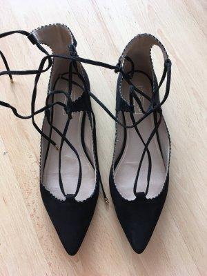 Lace Up Schnür Sandalen von Topshop, Größe 40