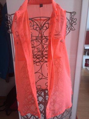 Lachs-farbige  Bluse