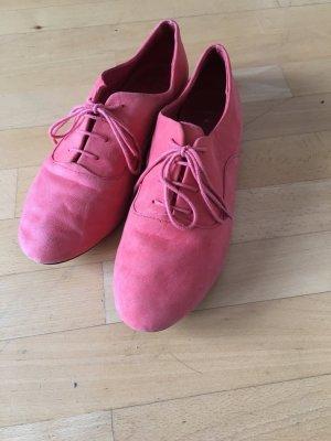 Lachs-pink-farbene Schuhe von Topshop