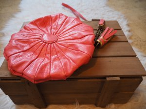 Asos Sac bandoulière rose chair-bronze faux cuir
