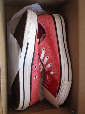 Lachsfarbene Converse Schuhe in Größe  36