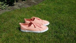 lachsfarbene Sneaker von H&M, Größe 39 (wie neu, nur 1x getragen)