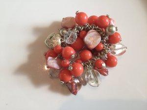 Bracelet salmon-silver-colored