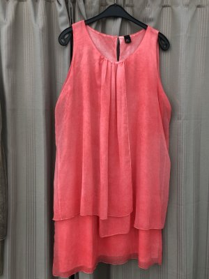 BC Collection Robe chiffon orange fluo polyester