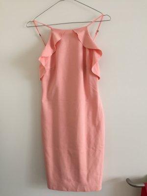Lachsfarbenes Kleid von Zara