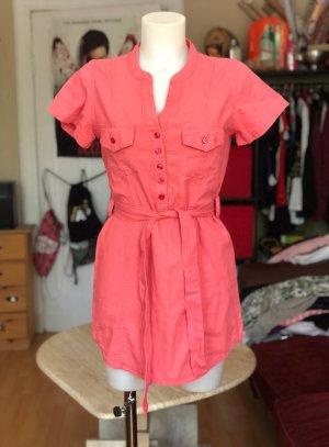Lachsfarbenes Kleid zum zuschnüren S/M