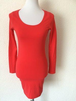 lachsfarbenes / rotes Longshirt /Shirt von H&M - Gr. 36