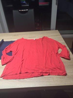 Lachsfarbenes Shirt