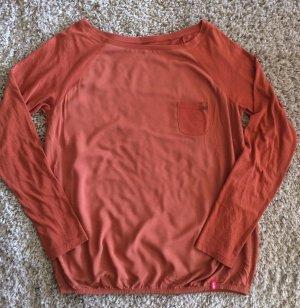 Lachsfarbenses Sweatshirt von edc Größe M