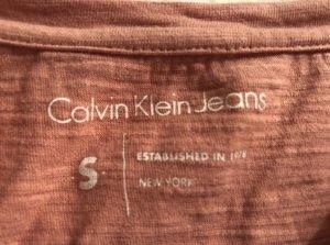 Lachsfarbenstes Calvin Klein Shirt