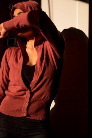 Lachsfarbiger Pullover von AJC Größe 34