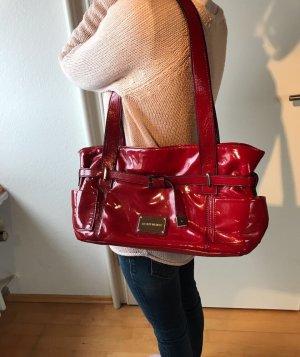 Lack Handtasche rot von Gerry Weber