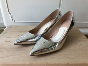 Asos Pointed Toe Pumps silver-colored