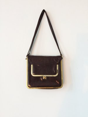 Carry Bag brown red-gold-colored