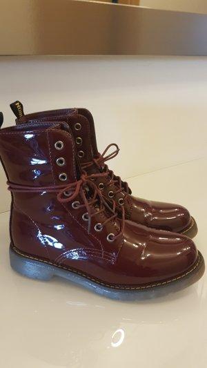 Boots carmine-bordeaux