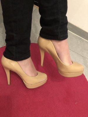 Lack-Leder High Heels