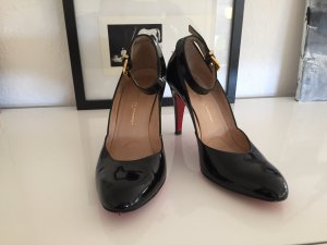 Lack Mary Janes mit roter Sohle