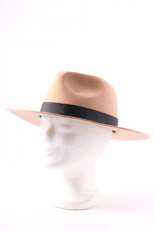 Lack of Color Cappello di lana beige stile boyfriend