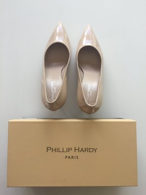 Lack Pumps in nude von PhilipHardy Paris