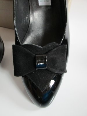 Südtiroler Schuhe Loafers zwart Leer