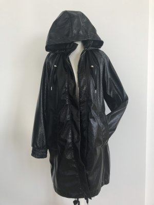 Edited Heavy Raincoat black