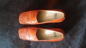 Loafers donker oranje