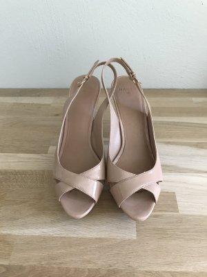 Mango High Heels nude imitation leather