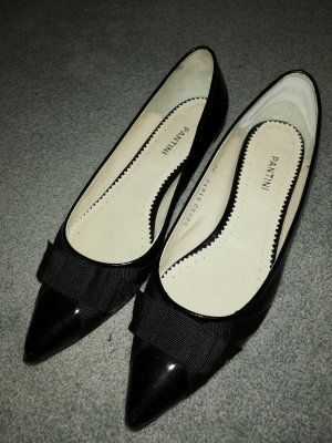 Patent Leather Ballerinas black leather