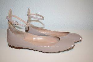 Lackballerina von Valentino, nude , Gr.36