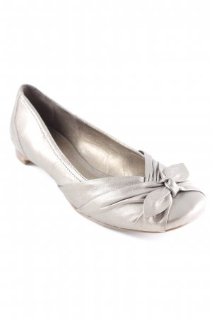 Patent Leather Ballerinas gold-colored-brown elegant