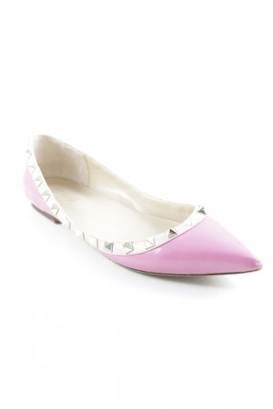 Patent Leather Ballerinas multicolored elegant
