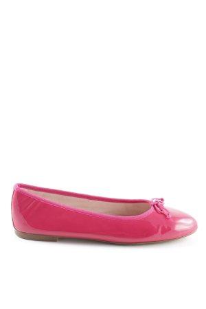 Lackballerinas pink Lack-Optik