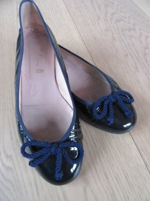 Pretty ballerinas Patent Leather Ballerinas blue