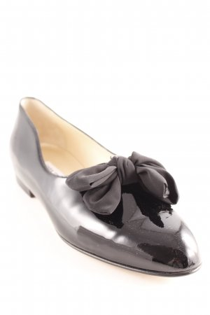 Lackballerinas schwarz Elegant