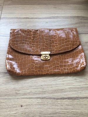 H&M Bolso de mano coñac-color oro