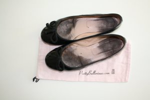 Lackleder Ballerinas