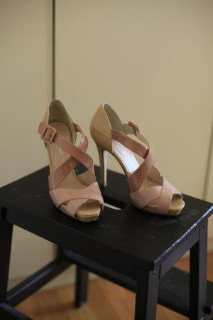 Lackleder High Heel Sandaletten