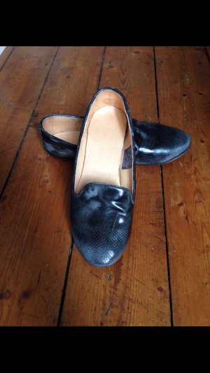 Lackleder Loafer von free People, 36,5